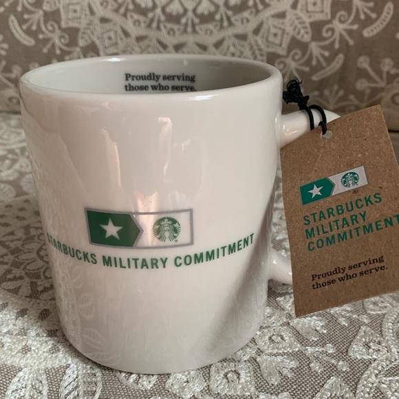 BNWT military exclusive mug